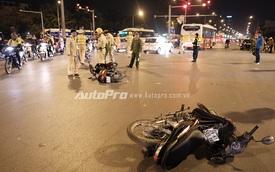 Hà Nội: Toyota Camry rồ ga gây tai nạn liên hoàn tại ngã tư