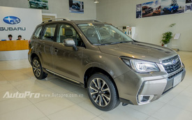Cận cảnh Subaru Forester 2.0 XT giá 1,66 tỷ tại Hà Nội