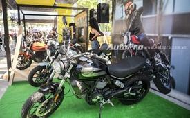 Gian trưng bày gần gũi của Ducati trong triển lãm xe máy Việt Nam