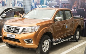Nissan Navara bản số tự động và giá rẻ ra mắt thị trường Việt