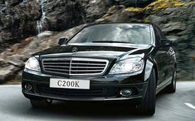 Lỗi túi khí, Mercedes triệu hồi 1.175 chiếc C-Class