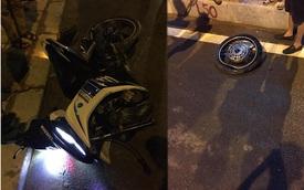 Thanh Hóa: Tông vào dải phân cách nam thanh niên chạy Yamaha Exciter 135 nguy kịch