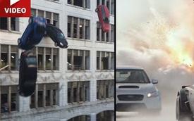 """Xem trước cảnh phá hàng loạt xe trong """"Fast and Furious 8"""""""