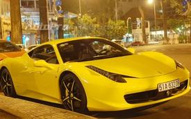 """""""Ngựa già"""" Ferrari 458 Italia rao bán 8,7 tỷ Đồng tại Sài thành"""