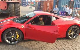 Siêu xe Ferrari 458 Speciale bất ngờ xuất hiện tại Việt Nam