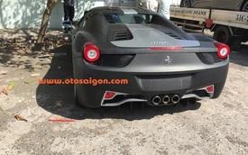 Đại gia Trung Nguyên gây choáng với Ferrari 458 Spider màu độc