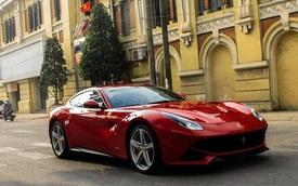 Sau 2 năm phủ bụi, Ferrari F12 Berlinetta tái xuất tại Hải Phòng