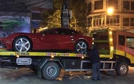 """Ferrari F12 Berlinetta tại Hải Phòng chuyển """"hộ khẩu"""" vào Sài Gòn"""