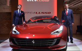 Ferrari GTC4Lusso giới thiệu tại Nhật Bản
