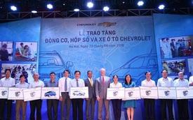 GM Việt Nam tặng xe hơi và động cơ, hộp số cho sinh viên