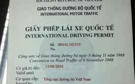 Tp. Hồ Chí Minh cấp giấy phép lái xe quốc tế từ ngày mai 25/2/2016