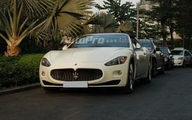 Hàng hiếm Maserati GranCabrio dạo phố Sài Thành
