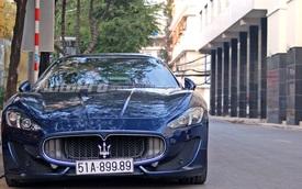 Hàng hiếm Maserati GranTurismo S dạo chơi Sài Gòn ngày đầu năm mới