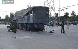 Rẽ trái trước đầu xe tải, hai thanh niên tử vong thương tâm