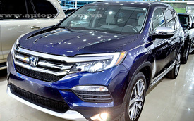 SUV cỡ trung Honda Pilot 2016 về Việt Nam, chốt giá 3,55 tỷ Đồng