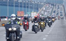 Hàng trăm xe phân khối lớn hội tụ tại trường đua quốc tế Sepang