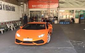 Siêu xe Lamborghini Huracan thứ 5 tại Việt Nam ra biển số trắng