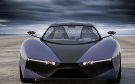 Sinh viên Kiến trúc Việt Nam dựng bản vẽ thiết kế xe Genesis Coupe Concept
