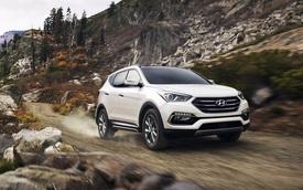Hyundai Santa Fe Sport 2017 được đánh giá cao về an toàn