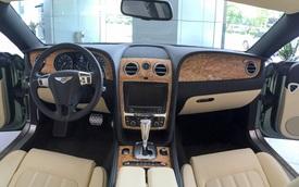 Khám phá nội thất Bentley Continental GT V8 độc nhất Việt Nam