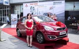 Cận cảnh Mitsubishi Mirage 2016 giá 535,8 triệu Đồng tại Việt Nam