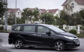 Cận cảnh xe gia đình tiền tỷ Honda Odyssey