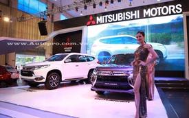 Pajero Sport là linh hồn của gian hàng Mitsubishi tại triển lãm VMS 2016