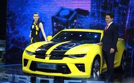 """Chevrolet """"nổi bần bật"""" tại VMS 2016 với """"quái thú"""" Camaro SS 2016"""