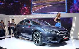 Honda Civic 2016 tỏa sáng ở gian hàng Honda tại VMS 2016