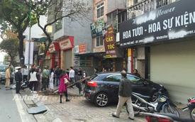 """Hà Nội: Mùng 4 tết, """"ma men"""" lái xe gây tai nạn cho 2 phụ nữ"""