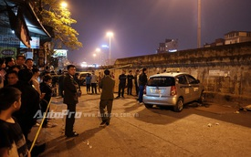 Hà Nội: Bảo vệ bãi gửi xe lái ô tô đâm tử vong 2 bà cháu