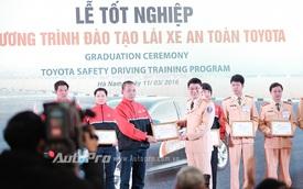 Toyota hoàn thành đào tạo giảng viên lái xe an toàn cho Việt Nam