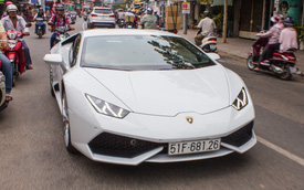 Giải mã biển số của Lamborghini Huracan chính hãng thứ 2 Việt Nam