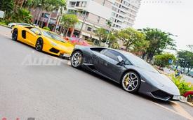 """Dàn siêu xe """"khủng"""" tụ họp cuối tuần tại Sài Gòn"""