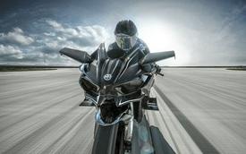 Siêu mô tô Kawasaki Ninja H2R gây choáng với vận tốc 391 km/h