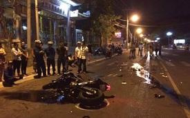 Vũng Tàu: Đâm vào đầu taxi, biker cầm lái Kawasaki Z800 tử vong