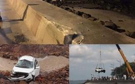 Kinh hoàng tai nạn của taxi tại Vũng Tàu, 2 người bị thương nặng