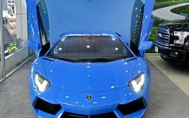 Lamborghini Aventador màu độc tại Việt Nam chốt giá 25,5 tỷ Đồng