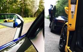 """Lamborghini Aventador SV của Minh """"Nhựa"""" lần đầu xuống phố"""