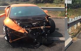 """Vụ tai nạn Lamborghini Huracan tại Việt Nam lên """"báo Tây"""""""