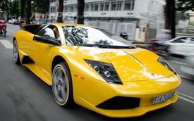 Cận cảnh siêu xe Lamborghini Murcielago LP640 của đại gia ngành y tế