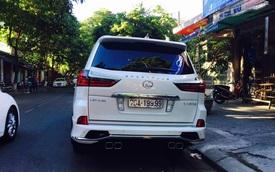 """Lexus LX570 Sport Plus 2016 biển """"tứ quý"""" 9 của đại gia Thừa Thiên Huế"""