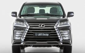 Chi tiết Lexus LX570 2016 phiên bản hầm hố hơn