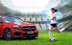 Mai Phương Thúy ủng hộ tuyển Đức tại Euro 2016