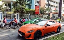 """Maserati GranTurismo diện """"áo mới"""" chuẩn bị đón Tết tại Sài Gòn"""