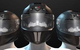 """iC-R - Mũ bảo hiểm """"có mắt phía sau"""", giá hơn 30 triệu Đồng"""
