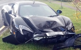 McLaren 650S Spider gặp nạn sau 10 phút rời showroom
