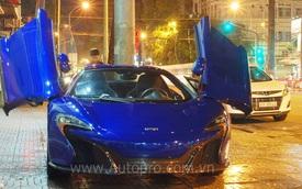 Siêu xe McLaren 650S Spider màu xanh dương độc nhất Việt Nam