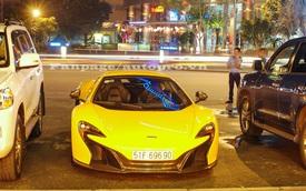 Siêu xe McLaren 650S Spider biển đẹp của Phan Thành dạo phố