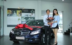 Hoa hậu Kỳ Duyên tậu thêm xe sang Mercedes-Benz E200 trị giá 2 tỷ Đồng